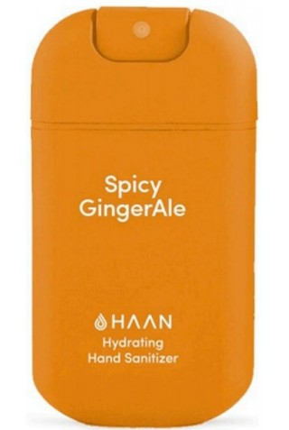ΑΠΟΛΥΜΑΝΤΙΚΟ ΧΕΡΙΩΝ HAAN HYFRATING HAND SANITIZER SPICY GINGERALE