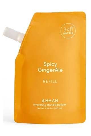 HAAN REFILL P100ML SANITIZER SPICY GINGERALE