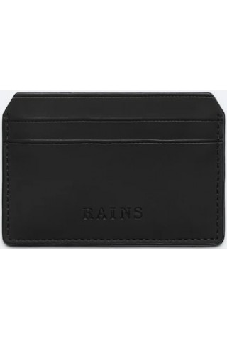 RAINS 1624/01 CARD HOLDER BLACK