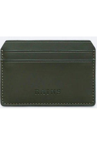RAINS 1624/03 CARD HOLDER GREEN