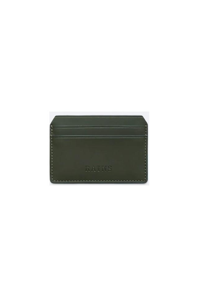 ΠΟΡΤΟΦΟΛΙ RAINS 1624/03 CARD HOLDER GREEN