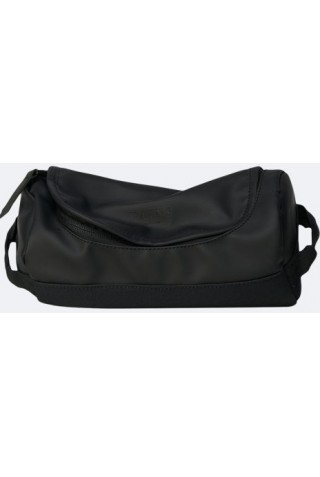 RAINS 1564/01 DUFFEL WASH BAG BLACK
