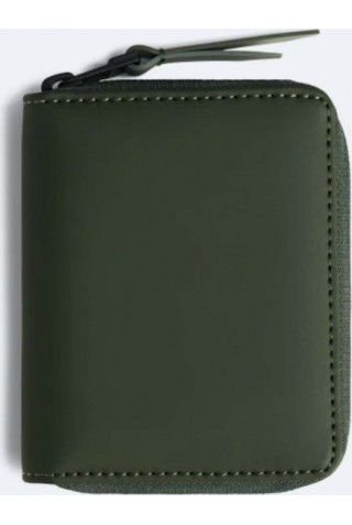 RAINS 1627/03 SMALL WALLET GREEN