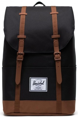 HERSCHEL 10971-04775-OS ECO RETREAT BACKPACK BLACK