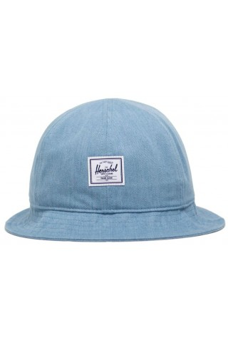 HERSCHEL 1183-1403-OS HENDERSON CAP Light Wash Denim