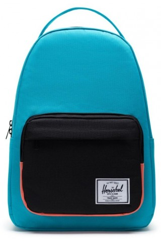 HERSCHEL 10789-04461-OS MILLER BACKPACK BLUEBIRD BLACK EMBERGLOW