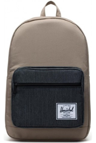 HERSCHEL 10011-04514-OS POP QUIZ BACKPACK TIMBERWOLF/BLACK DENIM