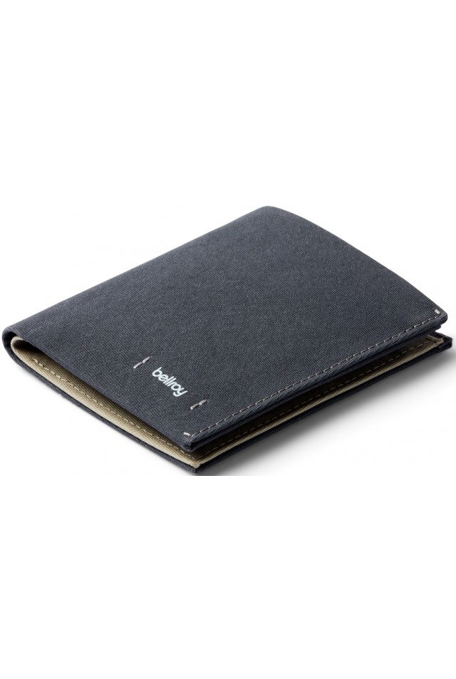 BELLROY NOTE SLEEVE WOVEN CHARCOAL