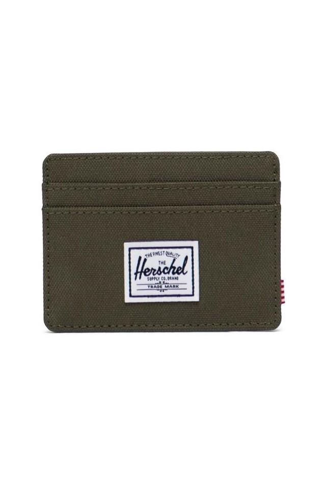 HERSCHEL 10360-04281-OS CHARLIE RFID WALLET IVY GREEN