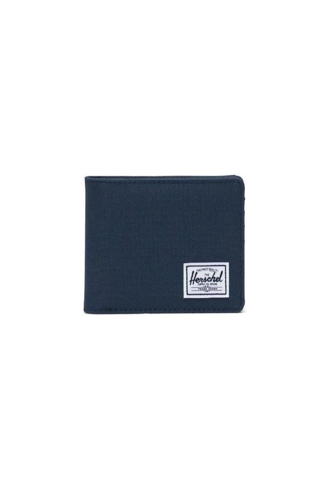 ΠΟΡΤΟΦΟΛΙ HERSCHEL 10910-00018-OS ANDY RFID WALLET NAVY/RED