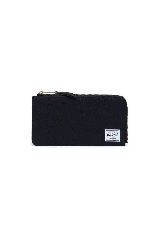 HERSCHEL 10808-00001-OS JACK LARGE RFID WALLET BLACK