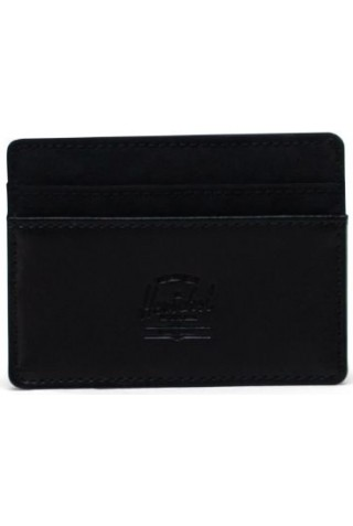 ΠΟΡΤΟΦΟΛΙ HERSCHEL 11011-03608-OS CHARLIE ORION RFID WALLET BLACK