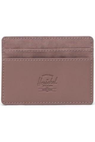 HERSCHEL 11011-04446-OS CHARLIE ORION RFID WALLET ASH ROSE