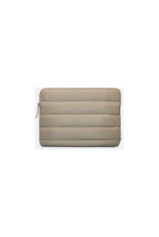RAINS 1674/33 LAPTOP COVER 13'' QUILTED VELVET TAUPE