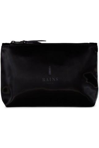 RAINS 1560/29 COSMETIC BAG VELVET BLACK