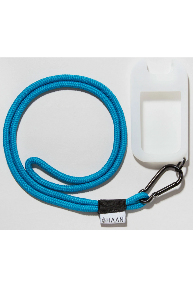 HAAN LARNYARD HANGER & POCKET BLUE