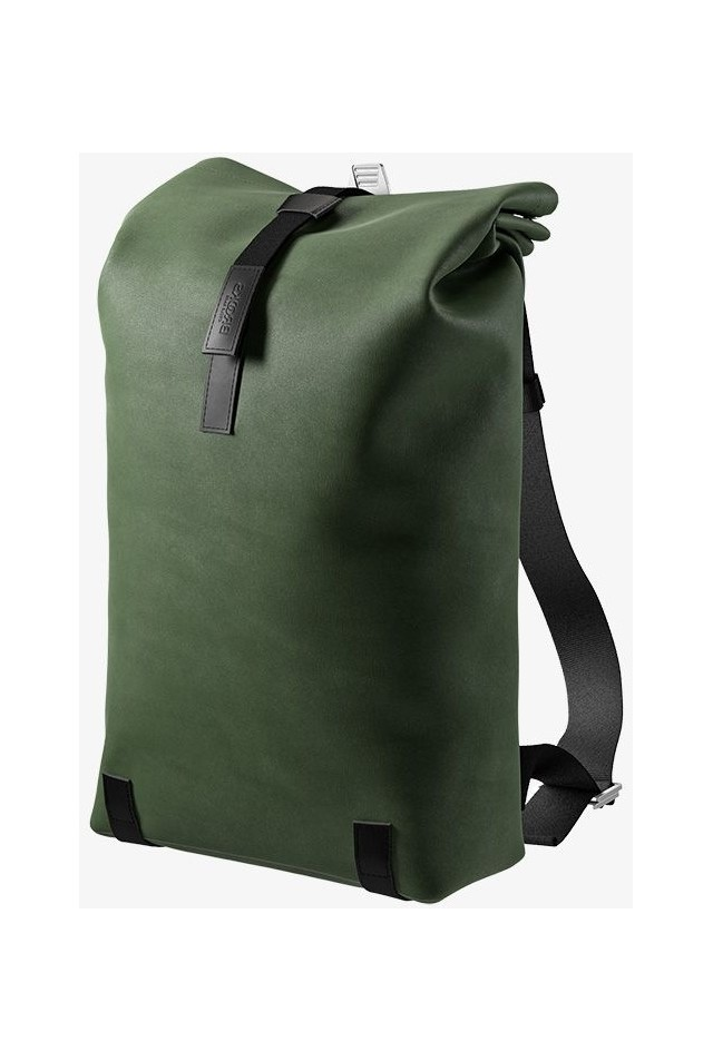 BROOKS BB043 A07282 PICKWICK COTTON CANVAS BACKPACK 26L FOREST