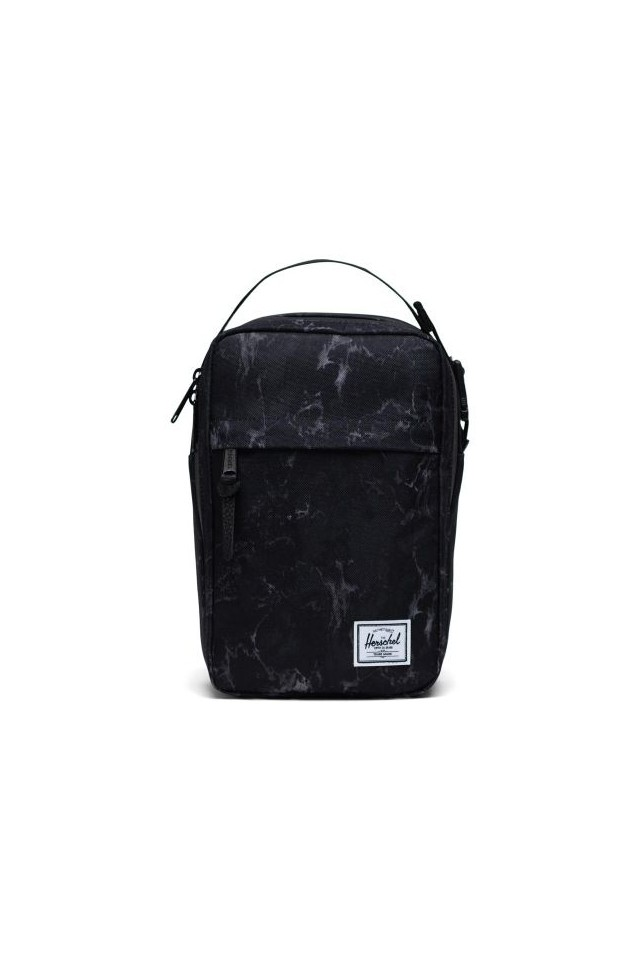 HERSCHEL 10837-04896-OS CHAPTER CONNECT TRAVEL KIT Black Marble
