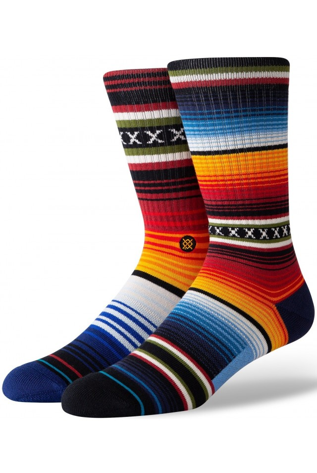 STANCE A556A20CHS-RED CURREN ST CREW SOCKS RED