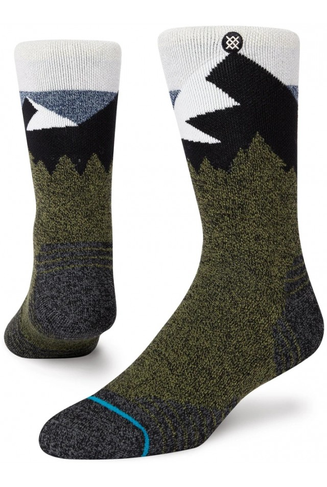 STANCE A588A20DIC DIVIDE ST BLUE CREW SOCK