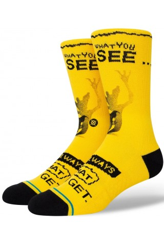 STANCE A558C20WHA WHAT YOU GET CREW SOCK 43-46