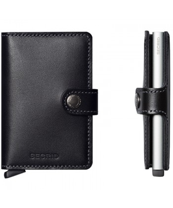 SECRID MO-BLACK MINIWALLET ORIGINAL BLACK