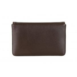 NAVA SM440BW SMOOTH RIGID CARD CASE BROWN