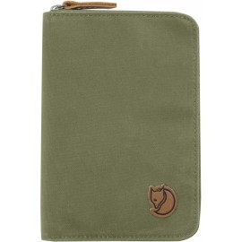 FJALLRAVEN 24220-620 PASSPORT WALLET GREEN